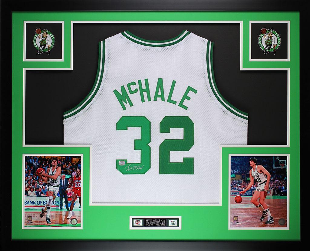 Details about Kevin McHale Autographed and Framed White Celtics Jersey Auto  MM COA (D1-L) ee907d3eacbf