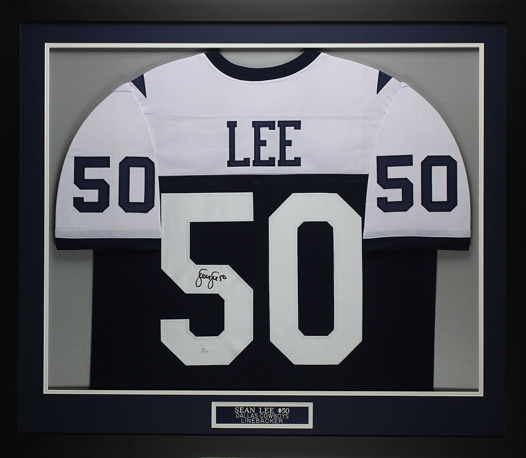 Details about Sean Lee Autographed   Framed Thanksgiving Day Cowboys Jersey  JSA COA D1-M 7e246d3b1