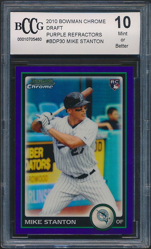 2014 Bowman Chrome Prospects #BCP109 Mookie Betts Rookie Card Graded BCCG 9